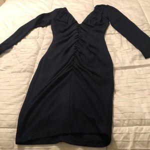 Hot Miami styles navy dress